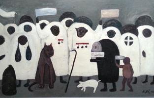 Милица Којчић: Самостална изложба слика